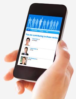 Cognology's performance management system on mobile