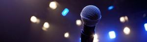 Microphone header