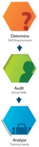 Skills audit diagram