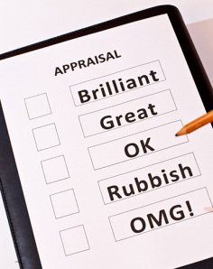 Appraisal ratings