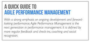 Agile performance management guide