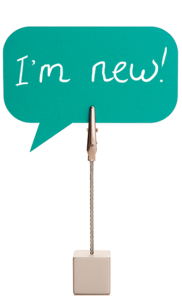 I'm New Sign