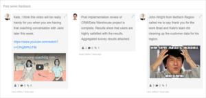 Agile Feedback screenshot