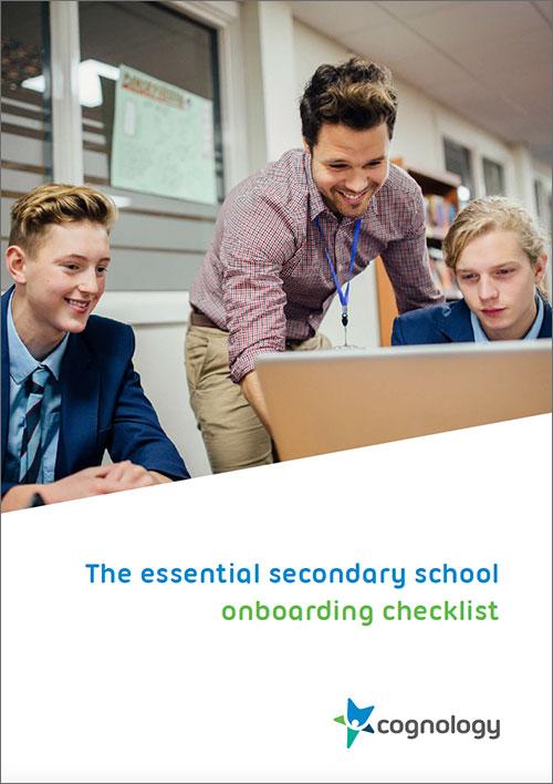 Onboarding checklist secondary schools