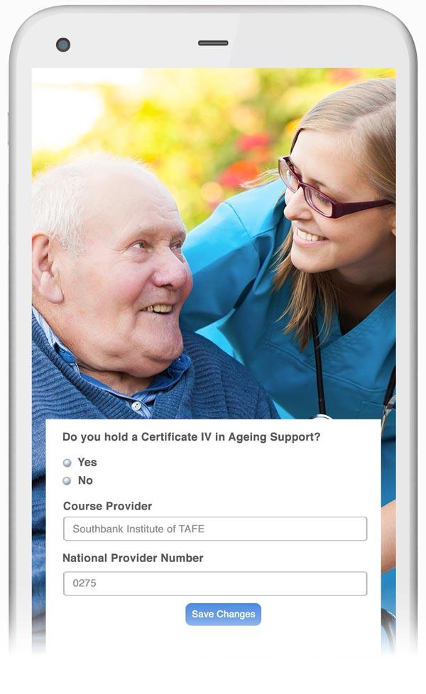Aged care demo