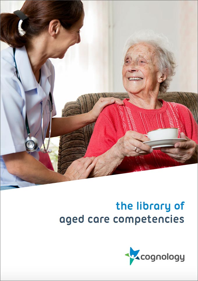 Aged Care Competencies PDF cover