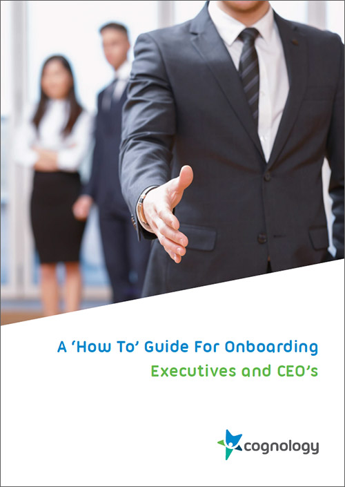 Guide for Onboarding Executives and CEO's whitepaper
