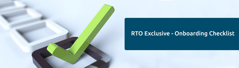 RTO Checklist Banner