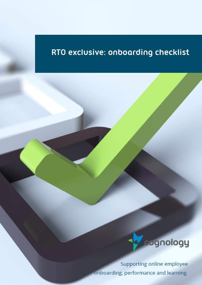 RTO Onboarding Checklist PDF