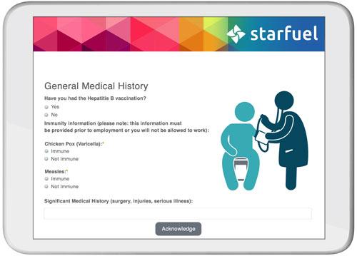 Medical Certificate screenshot